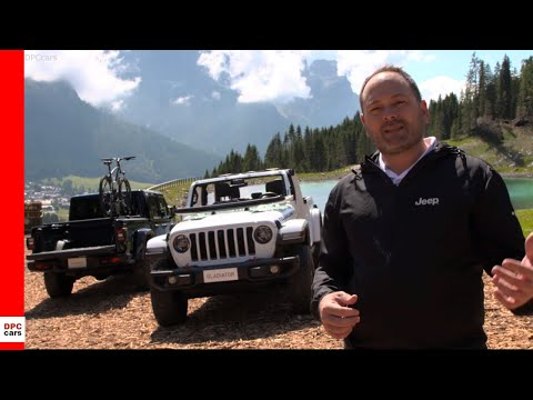 2020 Jeep Gladiator at Camp Jeep 2019
