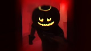 RUNNING FROM THE NIGHTMARE   Hello Neighbor Pumpkin Neighbor