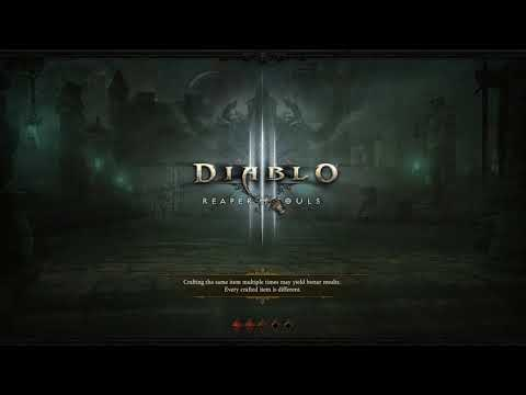 Diablo III SEASON 17 witch doctor leveling time!!