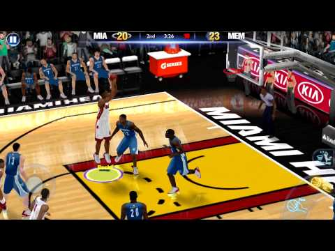 NBA 2K14 Android Gameplay
