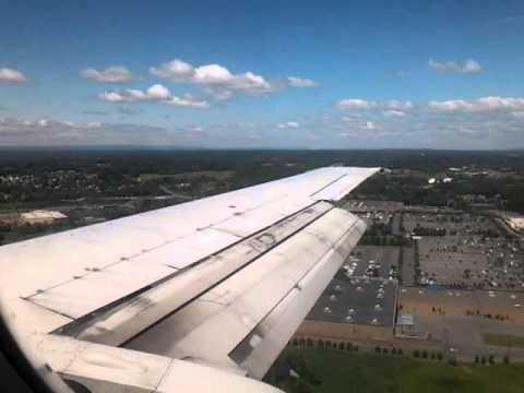 Bumpy landing Albany; US Airways