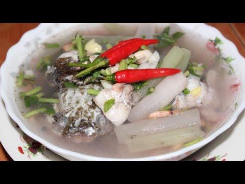 សម្លម្ជូរប្រលឹត | Khmer Cooking | Khmer Food | Asian Food