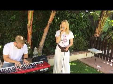 "Astrid S - ""Think Before I Talk"" (Perez Hilton Performance)"
