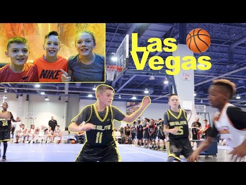 First AAU Basketball Tournament In Las Vegas