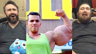 "Real Life ""HULKS"" Inject Muscles With Oil 