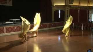 "The Charming Chattes ""Golden Queens""- 1st Place Belly Dance Show @World Dance Championship 2012"