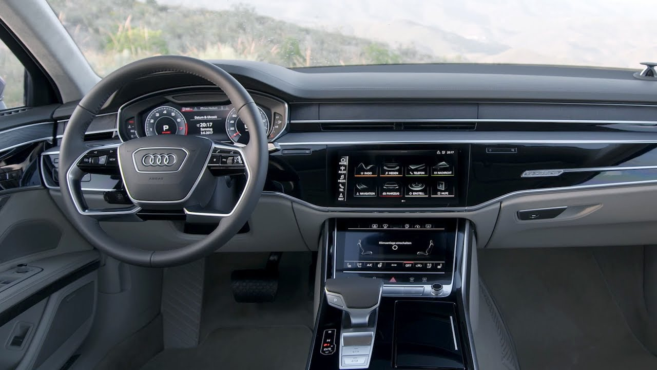 2018 Audi A8 L Long Wheel Base Interior Youtube