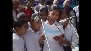 Birendra higher Secondary School bhojpur by Mr Pasang dorchi Sherpa