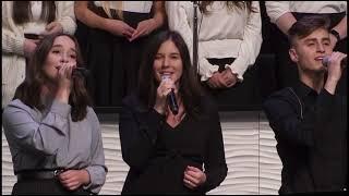 Святой слава твое наполнила храм SMBS Choir 2021