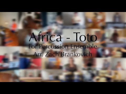 Africa - Toto -  For Percussion Ensemble (Isolation Version)