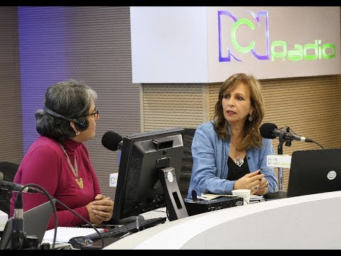 EN VIVO: Ángela María Robledo, fórmula vicepresidencial de Gustavo Petro, en RCN Radio