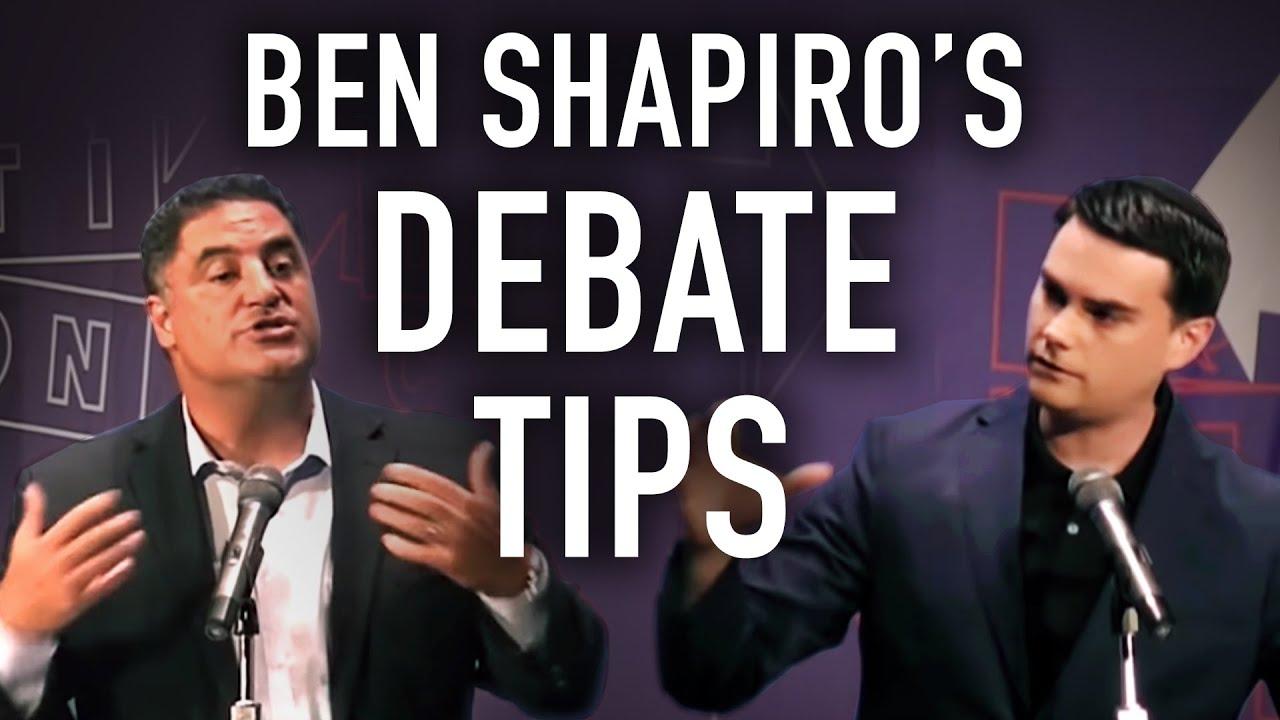 BEN SHAPIRO: 8 Tips on How to Debate