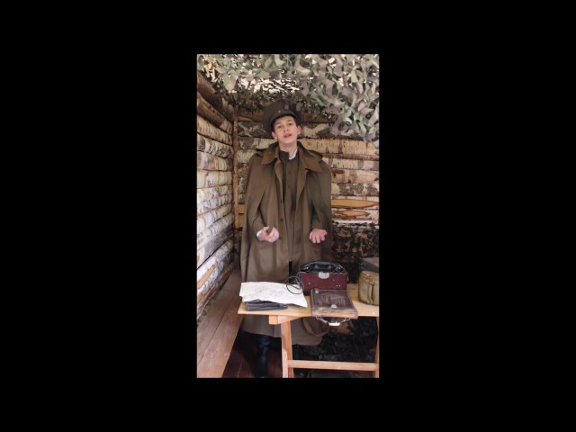 Изображение предпросмотра прочтения – «Учащиеся МКОУ Дубненской СОШ» читают произведение «Ты помнишь, Алёша, дороги Смоленщины» К.М.Симонова