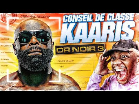 LE CONSEIL DE CLASSE : KAARIS - OR NOIR PARTIE 3 !!!