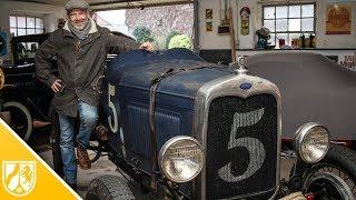 Vorkriegsauto restauriert - Ford A Speedster fährt durch Grevenbroich