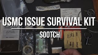 US Marine Corp Issue Survival Kit Review