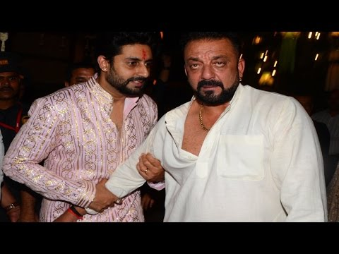 Download Sanjay Dutt arrives Drunk at Amitabh Bachchan's Diwali Party 2016   Uncut Video