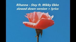 Rihanna - stay (ft. mikky ekko ...