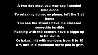 Nas - One Love (HD & Lyrics On Screen) Lyrics