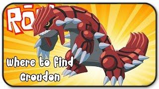 Roblox Pokemon Brick Bronze -Where To See Groudon The Legendary Pokemon