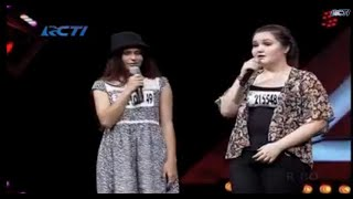 x factor indonesia bootcamp 2015 tantangan duel jessica bennet vs patrecia sarah
