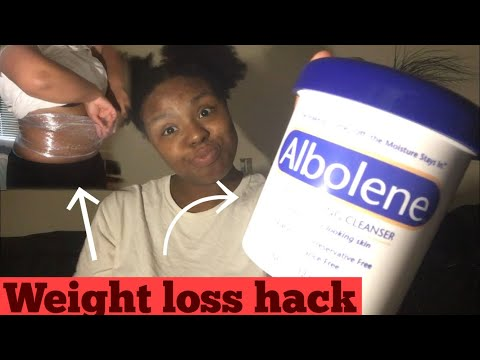 albolene weight loss | before and after | real results