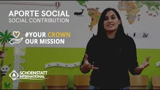 APORTE SOCIAL - SOCIAL CONTRIBUTION | #CORONAmater