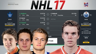 WHAT IT WOULD COST EACH NHL TEAM TO TRADE FOR MCDAVID - NHL 17