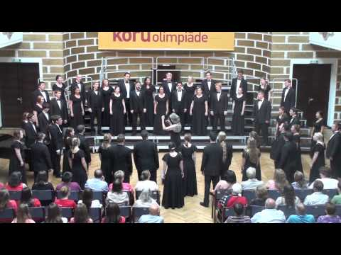 How can I keep from singing, arr. Ronald Staheli