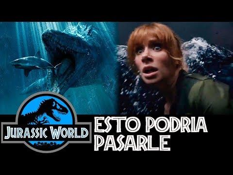 ¿Qué Pasará con el Mosasaurio en Jurassic World 2? - Fallen Kingdom
