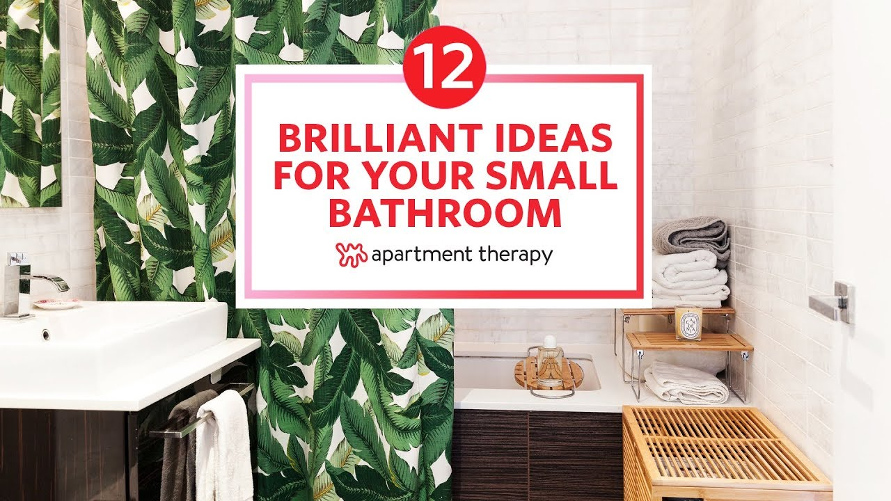 12 Small Bathroom Ideas You Ll Want To