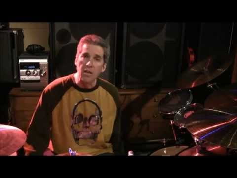 Ted Kirkpatrick of Tourniquet on Evans drumheads...