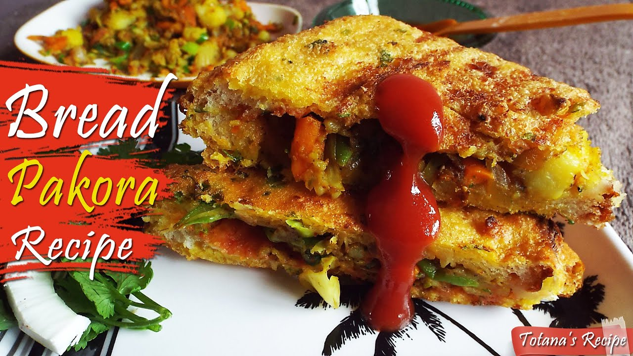 Bengali breakfast stuffed bread pakora recipe easy snacks with youtube premium forumfinder Image collections