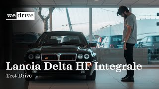 1990 Lancia Delta HF Integrale Test Drive [Moving Tribe] ENG SUBS