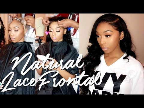 SECRETS REVEALED! LAY & SLAY YOUR LACE FRONTAL WIG | Installation, Baby Hair, Style
