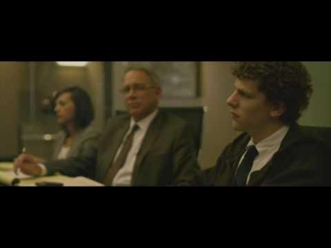 Eduardo Saverin gets diluted by Mark Zuckerberg scene - The Social Network