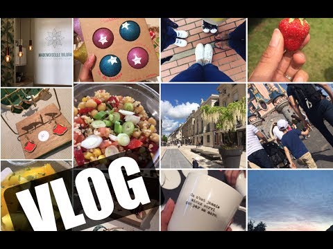 WEEKLY VLOG | Filtres Solaires BIO, Bouquins & Evènements