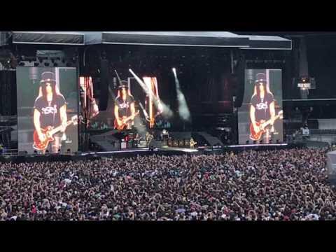 Slash - Guitar Solo London Stadium