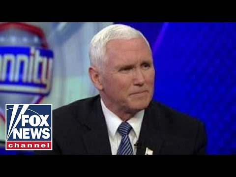 Mike Pence on sanctuary laws, immigration reform and Joy Behar
