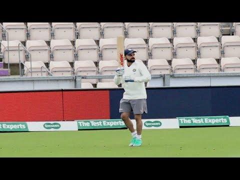 Watch: Virat Kohli shows his dancing skills during practice thumbnail