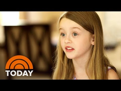 8-Year-Old Girl Battling A Rare Brain Disease She Calls 鈥楢wesome鈥� | TODAY