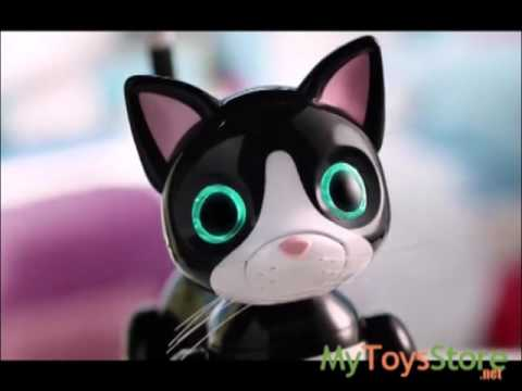 Zoomer Kitty - Interactive Cat Robot - Black, Pink, Orange, Blue Midnight