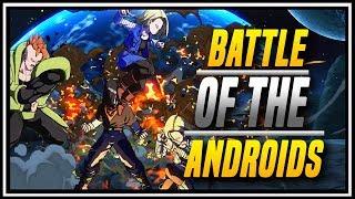 DBFZ ➤ Battle of The Androids Tachikawa Targets KR WrestlingMan  [ Dragon Ball FighterZ ]