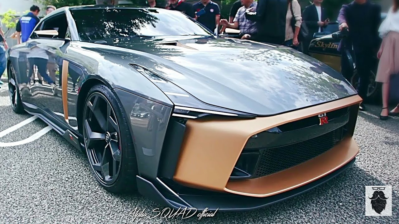 nissan gt r50 italdesign in tokyo japan nissan gtr 2019 youtube. Black Bedroom Furniture Sets. Home Design Ideas