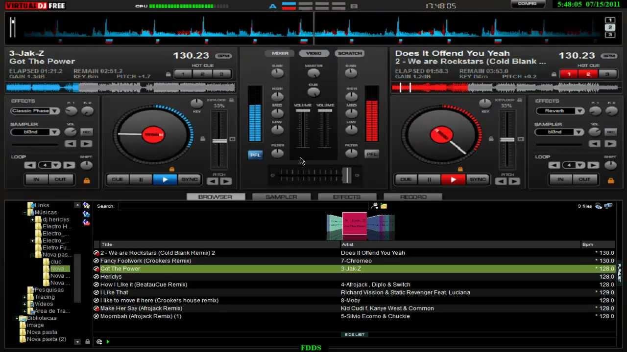 CLUBIC DJ SUR VIRTUAL TÉLÉCHARGER 2012