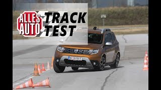Tracktest: Dacia Duster