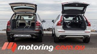 2018 Volvo XC60 v BMW X3 | motoring.com.au