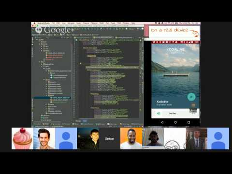 ... Android UI: Layouts and Animations w/Linton Ye of Mirror for Android