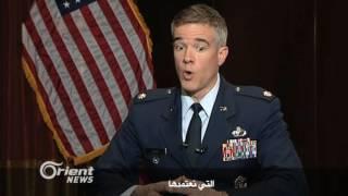 الكولونيل كريس كارنز- المتحدث باسم القيادة المركزية الأميركية