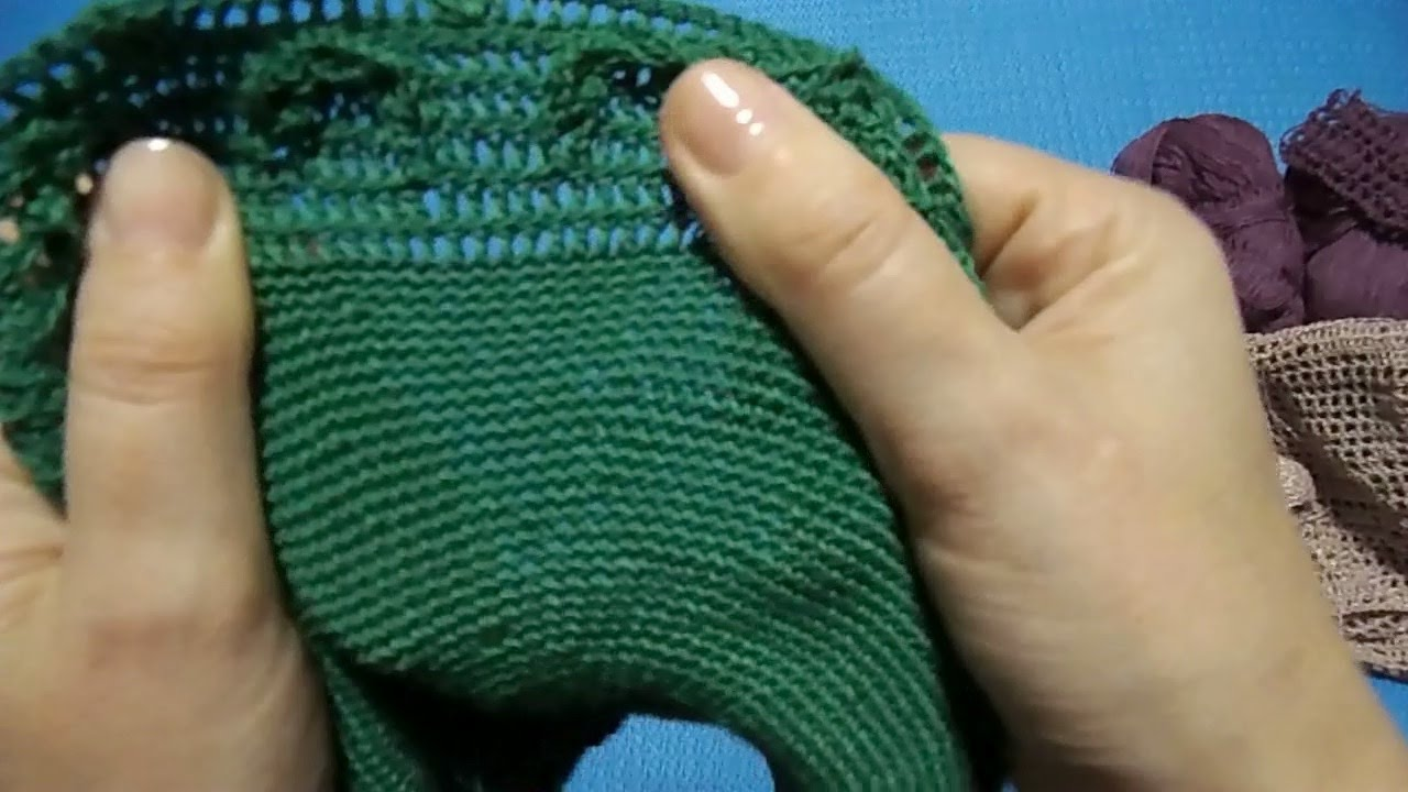 Вязаные платья и туники Вязание спицами и крючком